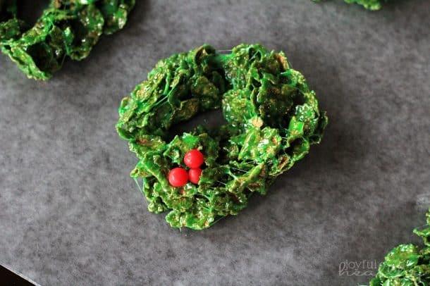 Christmas Wreath Cookies 5