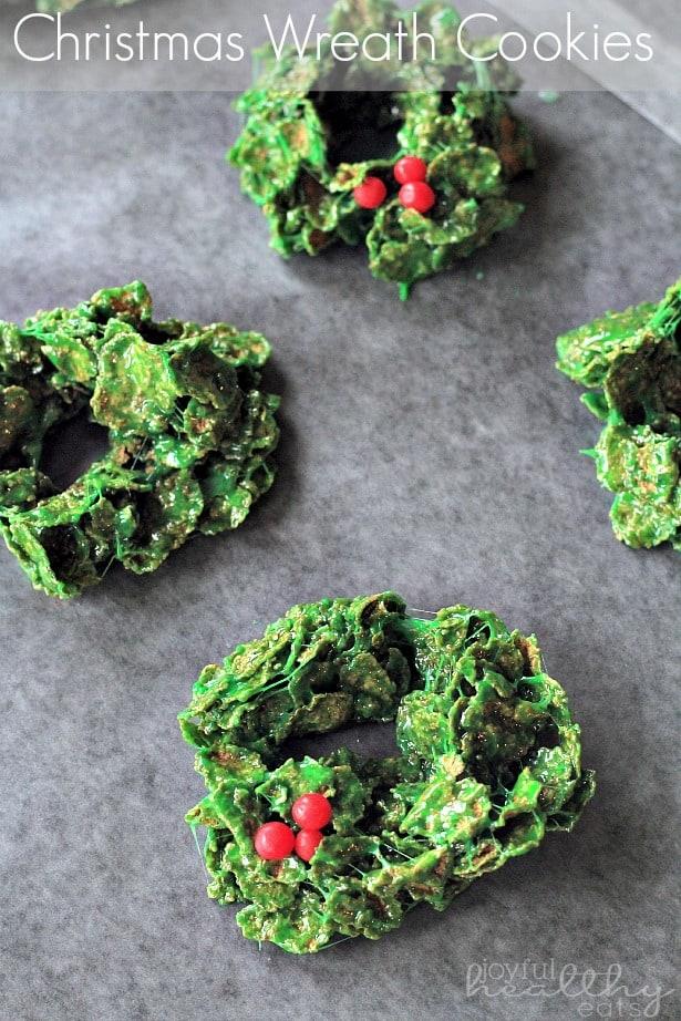 Christmas Wreath Cookies 6
