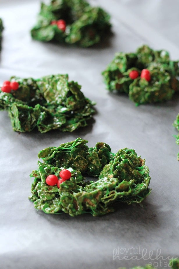 Christmas Wreath Cookies 7