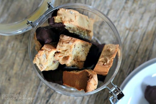 Dark Chocolate Almond Biscotti 2