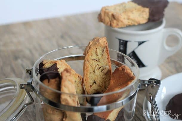 Dark Chocolate Almond Biscotti 3