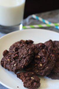 Image of Mint Dark Chocolate Chip Cookies