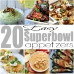 20 Easy Superbowl Appetizers