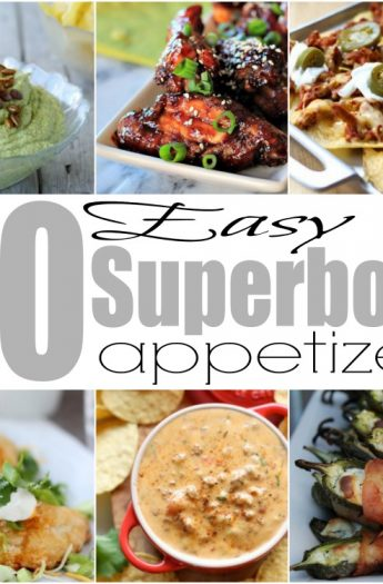 20 Easy Superbowl Appetizers #starters #appetizers #wings #dips #nachos #superbowl #gameday