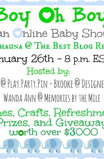 Online Baby Shower & Giveaway