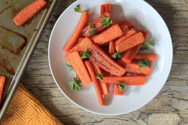 Honey Roasted Carrots 5