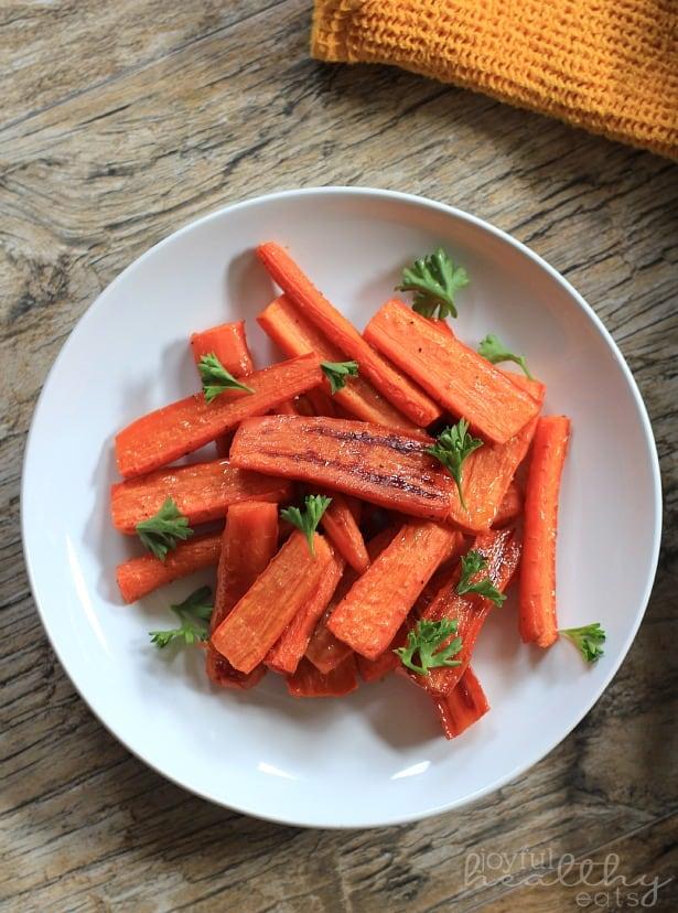 Honey Roasted Carrots 6