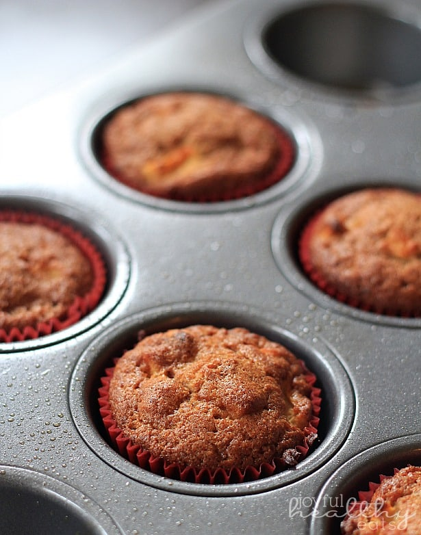 Paleo Apple Cinnamon Muffins 1