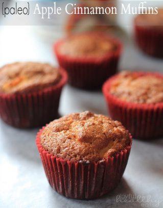 Paleo Apple Cinnamon Muffins 2