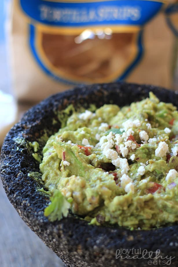 Spicy Roasted Tomato Guacamole 1