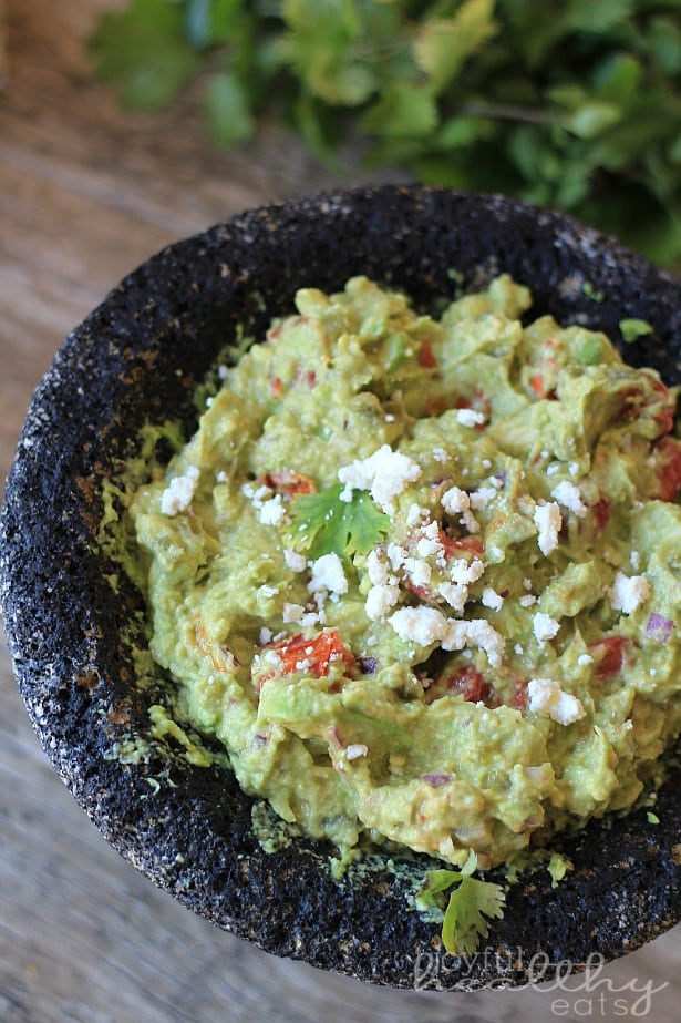 Spicy Roasted Tomato Guacamole 2