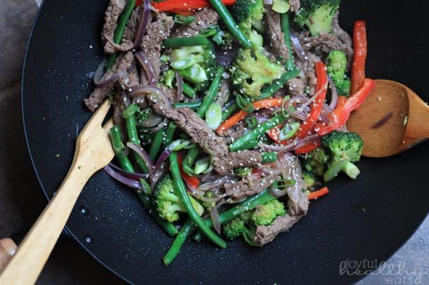 Steak and Vegetable Stir fry | Paleo 1