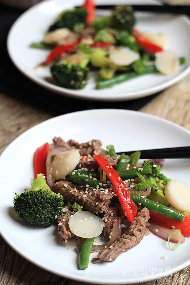 Steak and Vegetable Stir fry Paleo 2