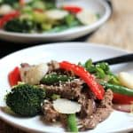 Steak and Vegetable Stir fry #Paleo #cleaneating #steak #vegetable #asianfood