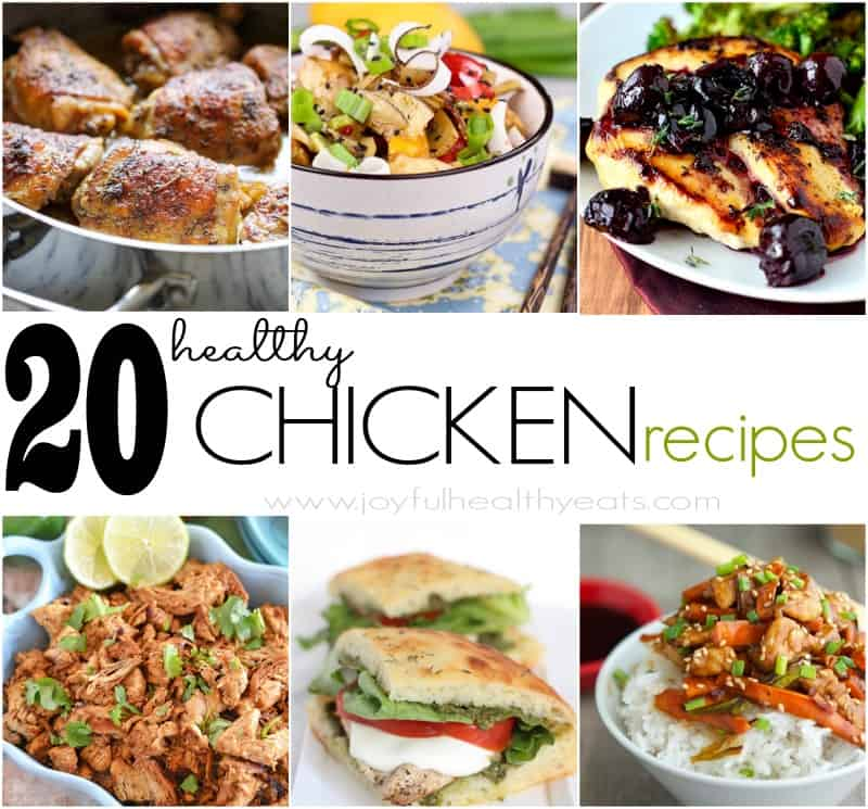 20 Healthy Chicken Recipes Chicken Dinner