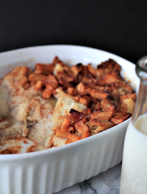 Apple Cinnamon Bread Pudding 2