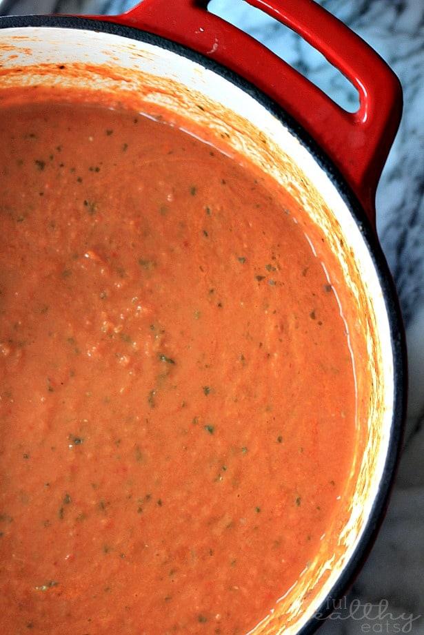 Creamy Tomato Basil Soup 5
