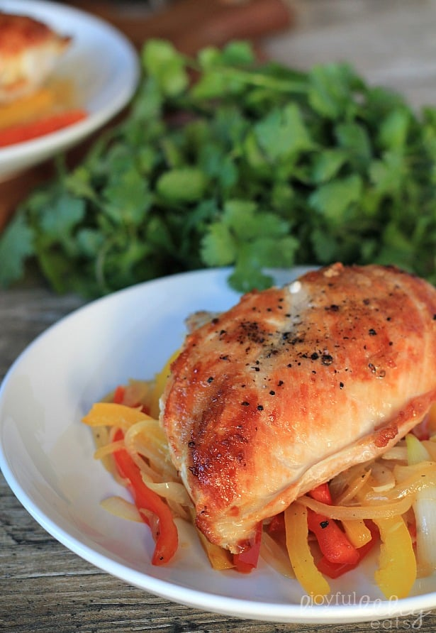 Paleo Southwestern Chicken with Peppers 1