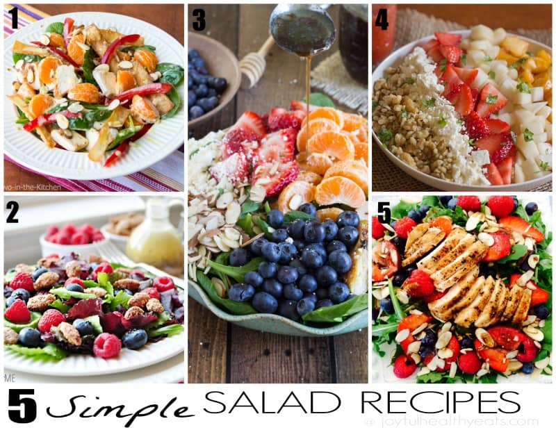 5 Simple Salad Recipes 2