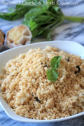Image of Whole Wheat Couscous with Garlic and Herbs