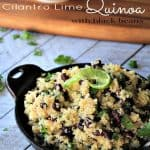 Cilantro Lime Quinoa with Black Beans 2