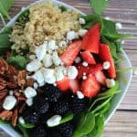 Detox Berry Quinoa Spinach Salad 6