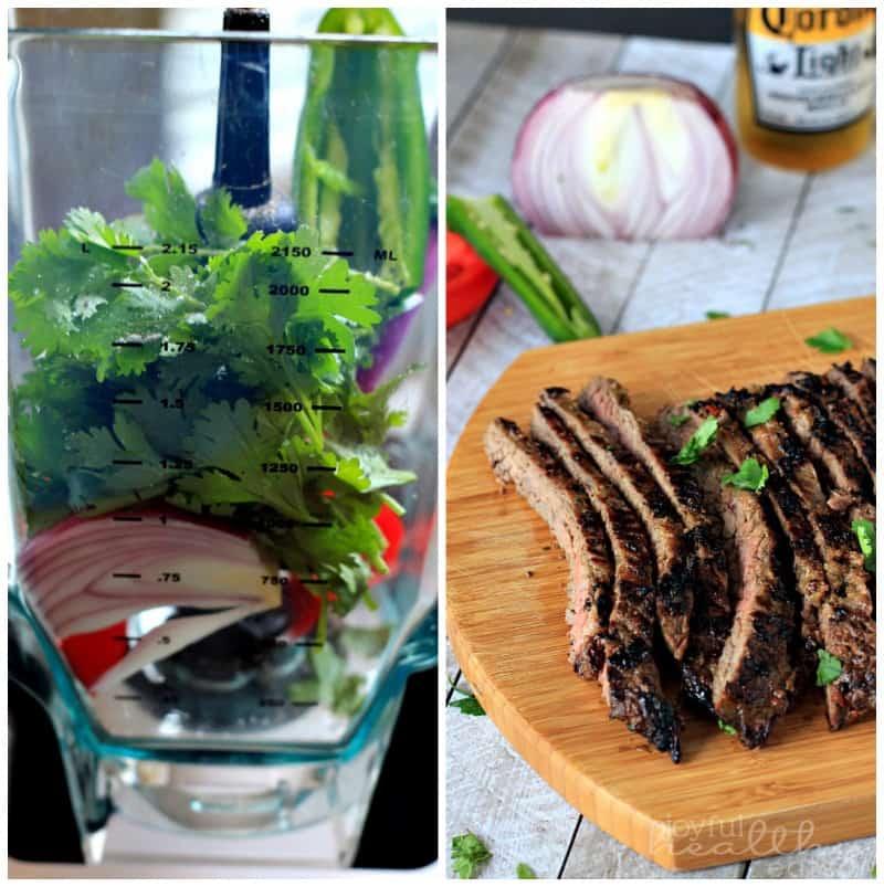 Grilled Fajita Skirt Steak #Steak #MexicanFood #cincodemayo #fajitas #marinade #paleo #glutenfree
