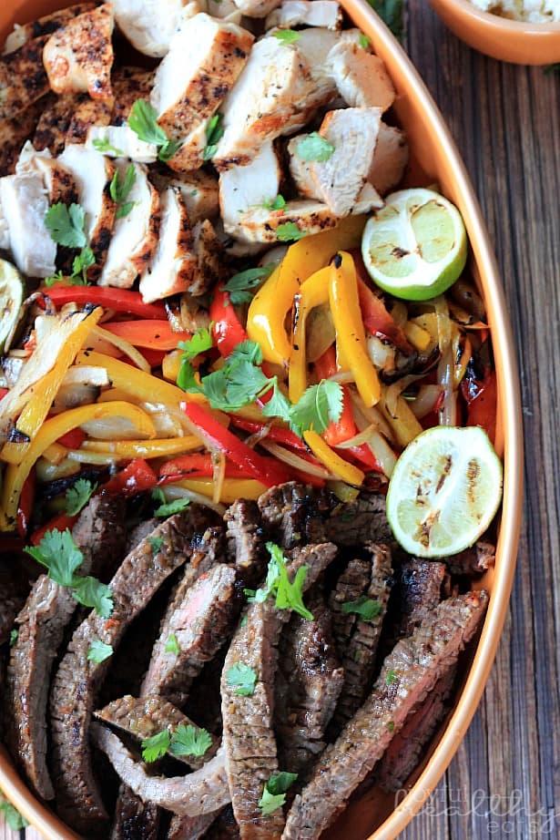 Grilled Fajita Skirt Steak Grilled Fajita Skirt Steak #Steak # ...