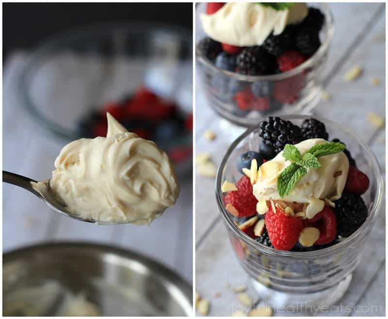 Mixed Berries with Honey Maple Mascarpone 5