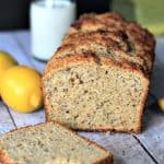 Whole Wheat Lemon Poppyseed Bread with chia seeds 1