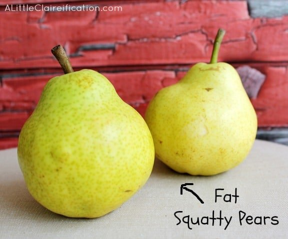 Baked Pears with Honey Almond Oat Crumble #dessertrecipes #healthy #pears