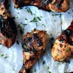 Balsamic Glazed Grilled Chicken {Paleo & Gluten Free}