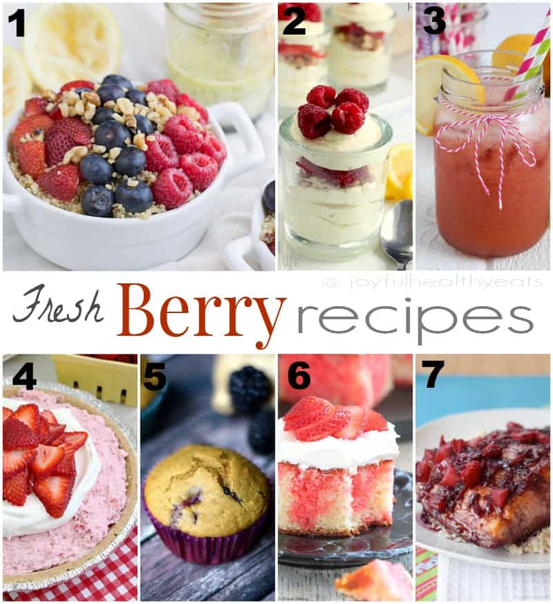 Fresh Berry Recipes 2