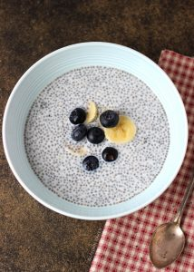 Blueberry Almond Chia Pudding Image