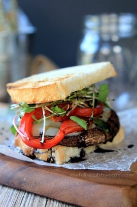Grilled Portabella Burgers with a Balsamic Reduction_5