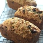 Loaves of Coconut Pecan Chocolate Chip Banana Bread