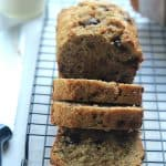 Coconut Pecan Chocolate Chip Banana Bread