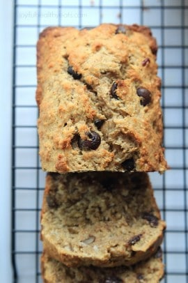 Coconut Pecan Chocolate Chip Banana Bread_5