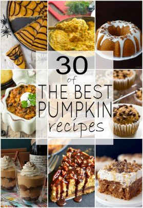 A Collage of Nine Delicious Pumpkin Dishes from All Over the Internet