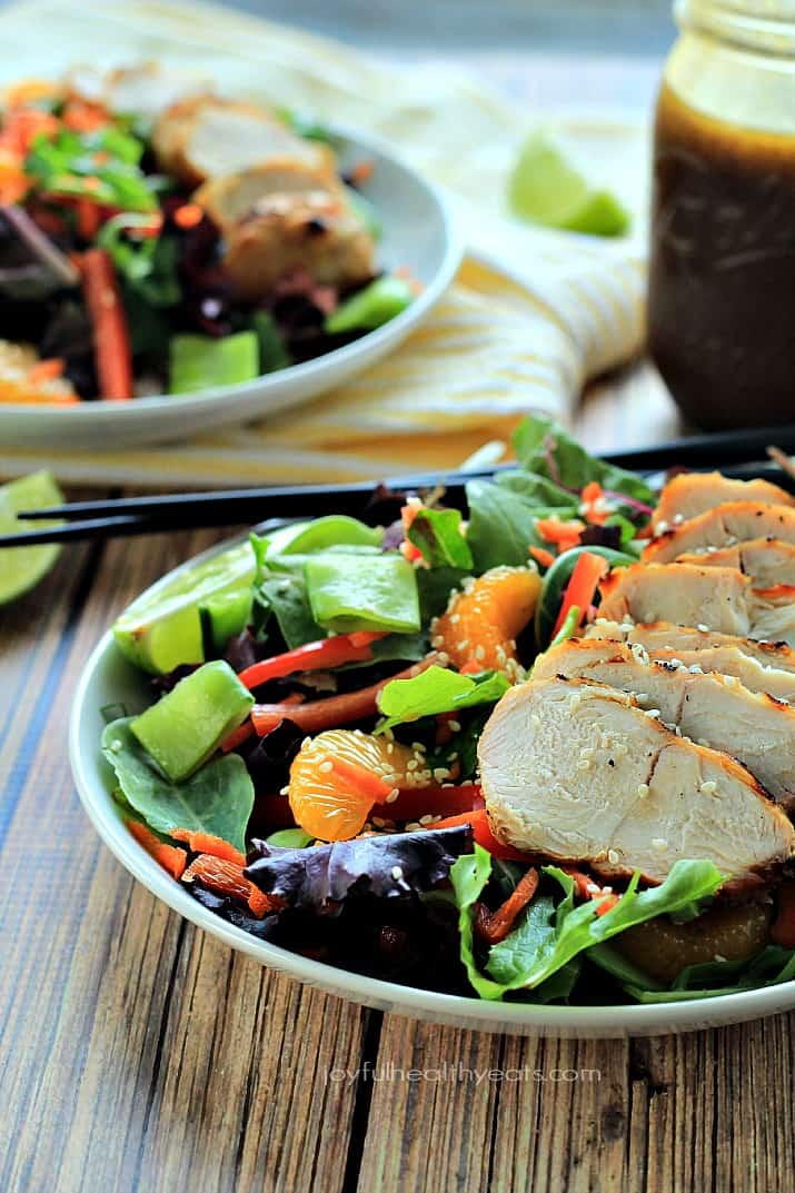 Asian Chicken Salad Sesame Ginger Dressing Chicken Salad Recipe