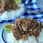 Crock Pot Honey Balsamic Pulled Pork... my new favorite pulled pork recipe! | www.joyfulhealthyeats.com #paleo #glutenfree #easy