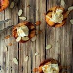 Grilled Peaches with Maple Honey Mascarpone Cheese + KitchenAid Mixer Giveaway