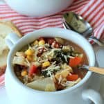 Hearty Minestrone Soup #MysteryDish