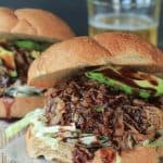 Honey Balsamic Pulled Pork Sandwiches-5