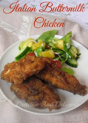 Italian Buttermilk ChickenP
