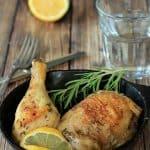 Lemon Rosemary Baked Chicken