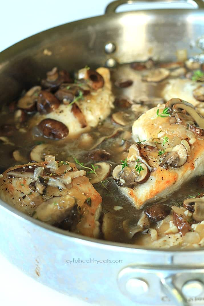 Chicken In Chipotle-Wild Mushroom Sauce Recipe — Dishmaps