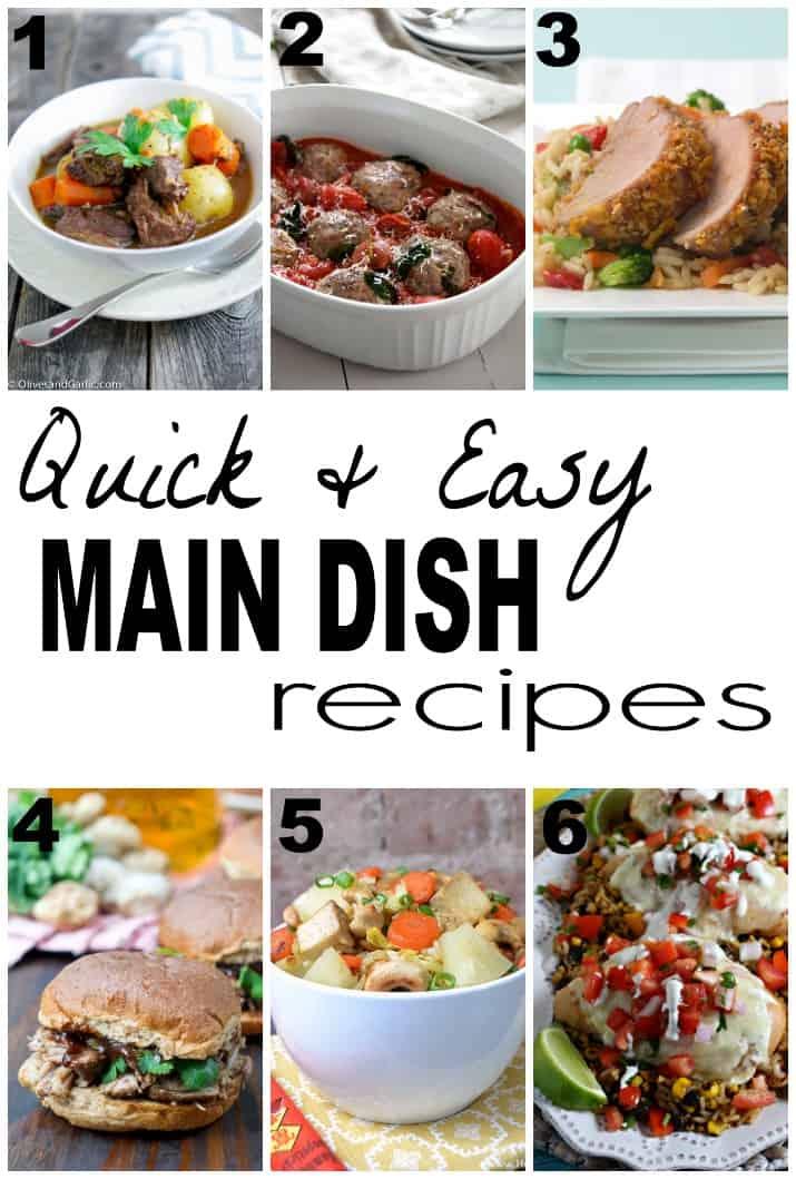 Main Dish Recipes 2