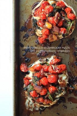 Portobello Mushroom Pizza with Sautéed Balsamic Vegetables_6