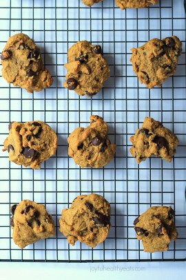 Pumpkin Chocolate Chip Cookies_6